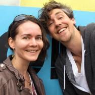 Stephanie Neumann und Jonas Breme auf der re:publica 2012